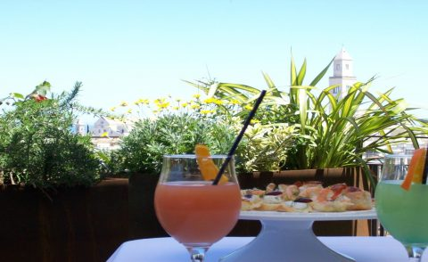 The Murat Terrace, ideal for open-air aperitifs