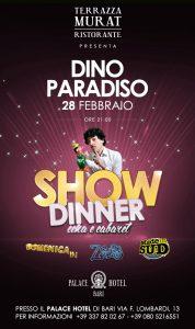 Show Dinner - Dino Paradiso