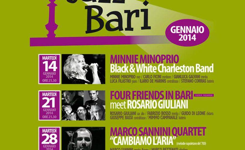 Jazz Club Bari – январь 2014