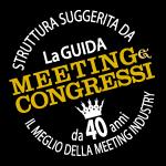 "Struttura suggerita da ""La guida Meeting & Congressi"""
