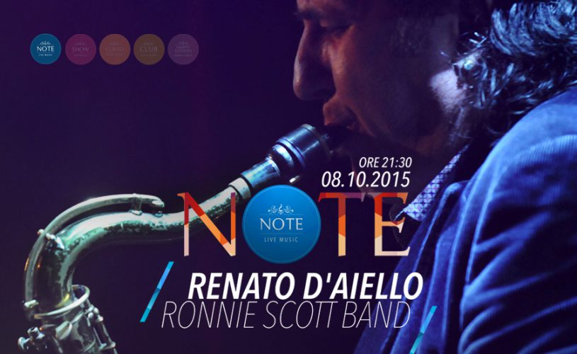 NOTE - Renato D'Aiello & Ronnie Scott Band in Acoustic Trio