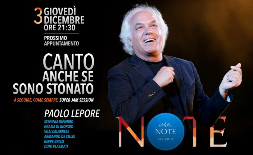 NOTE - Paolo Lepore