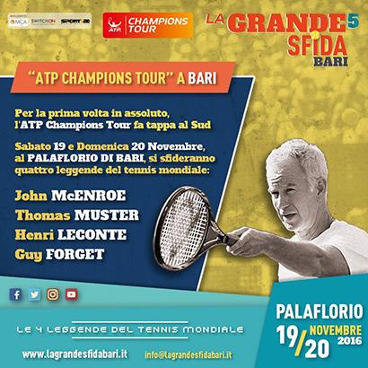 Il Palace ospita le 4 stelle leggendarie del tennis