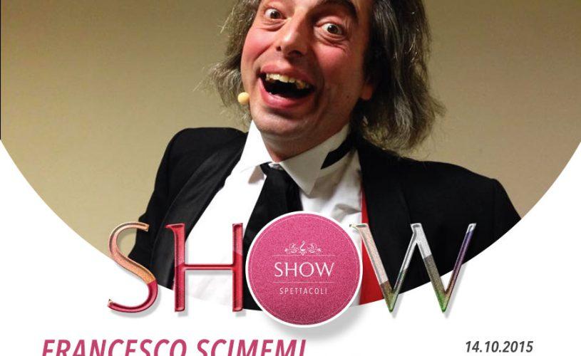 Mago Scimemi in Magicomio per lo SHOW del Palace Cafè