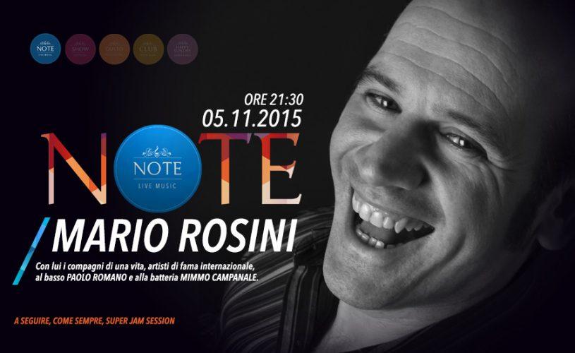 """Sulle """"Note"""" del Mario Rosini Trio, benvenuto novembre al Palace Cafè"""