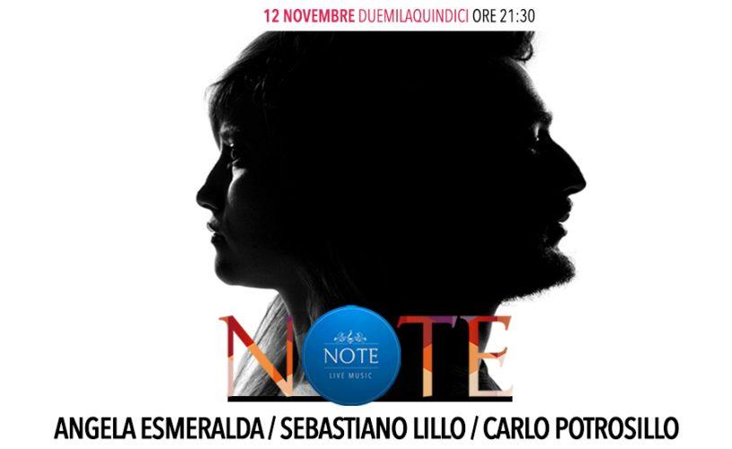 Note di soul&blues con Angela Esmeralda, Sebastiano Lillo e Carlo Petrosillo