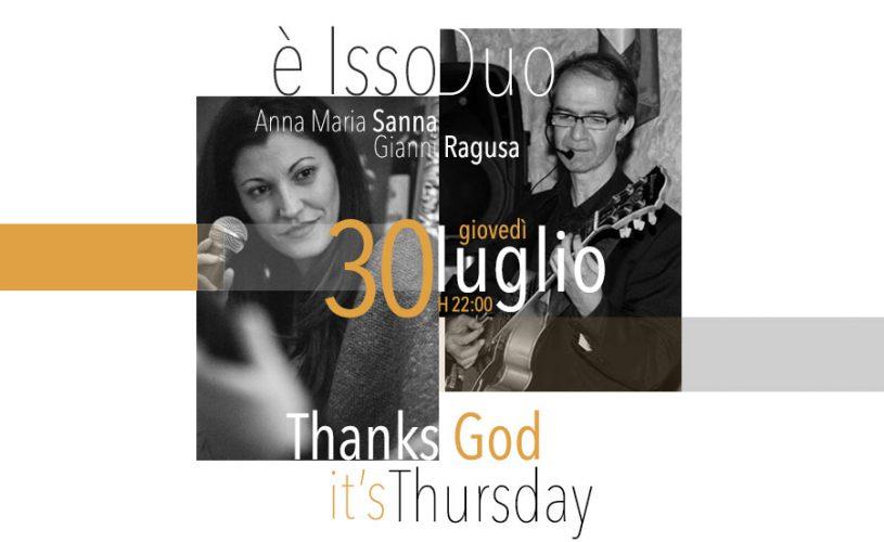 """È Bossa Nova Experience questo giovedì al Palace Cafè di Bari. """"È isso Duo"""" con l'estro tutto pugliese di Sanna e Ragusa"""