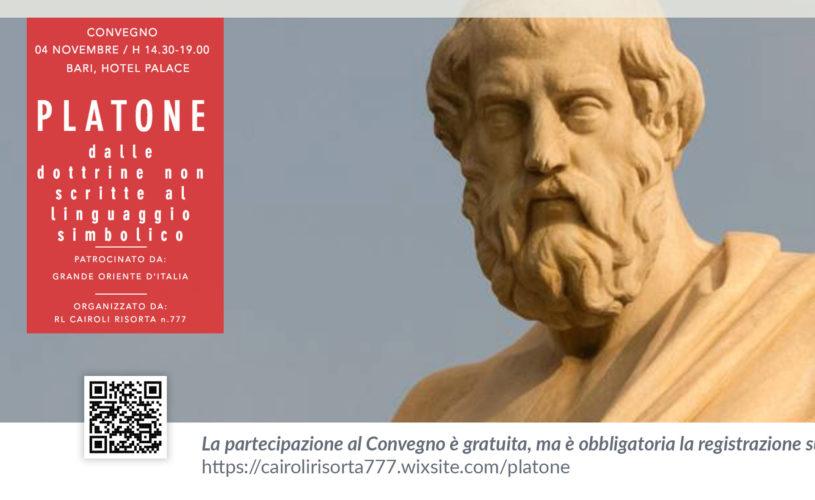 Platone al Palace Hotel: dalle dottrine non scritte al linguaggio simbolico