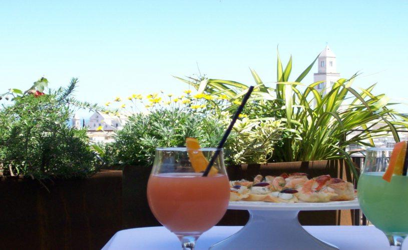 The Murat Terrace, ideal for open-air aperitifs