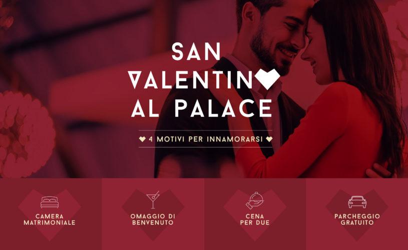 Al Palace, San Valentino ha tutto un altro sapore