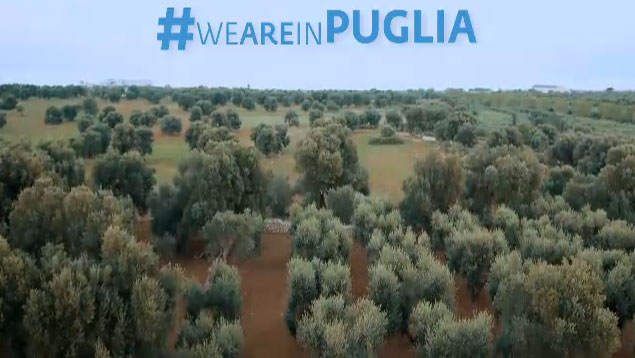 """""""Finalmente ho trovato un luogo… è la Puglia"""": lo spot Puglia d'amare"""