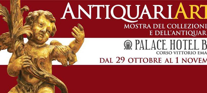 Antiquariarte: al via la V edizione al Palace Hotel di Bari