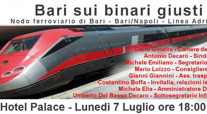 Bari on track