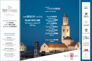"""Evento Palace Hotel Bari 30 settembre """"Ritorno"""""""