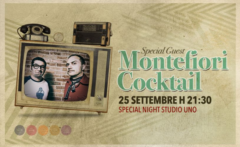 """Special guest Montefiori Cocktail: un tuffo negli anni '60 per la Special Night targata """"Studio Uno"""""""