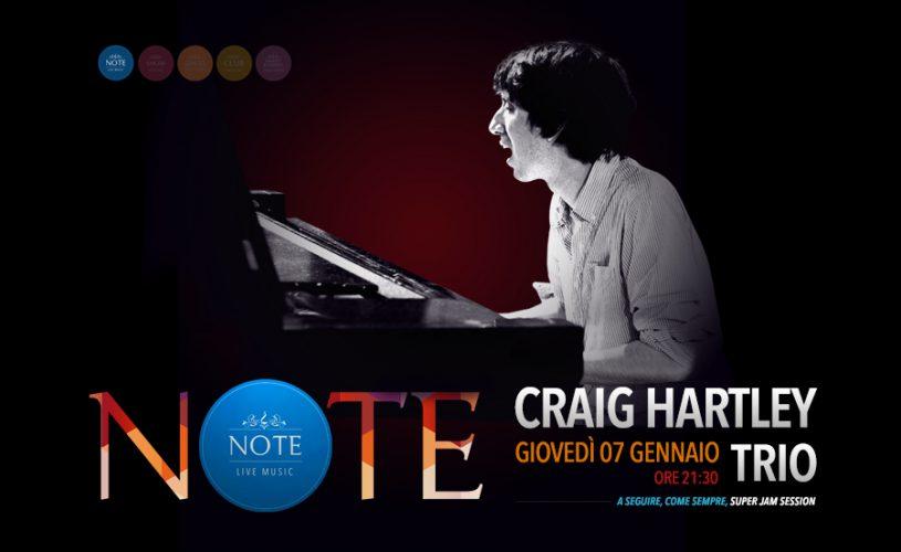 Craig Hartley Trio: jazz e talento ospiti live al Palace Cafè di Bari