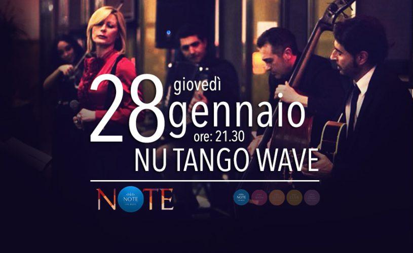 """Giovedì 28 """"Note"""" è Nu Tango Wave Quintet Show al Palace Cafè di Bari"""