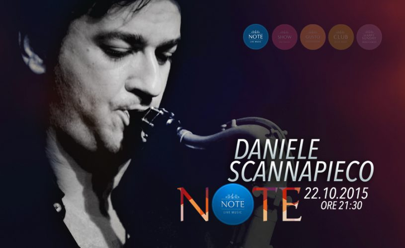 Il Daniele Scannapieco Quartet colora le NOTE del prossimo giovedì