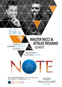 NOTE - Ricci & Troiano giovedì