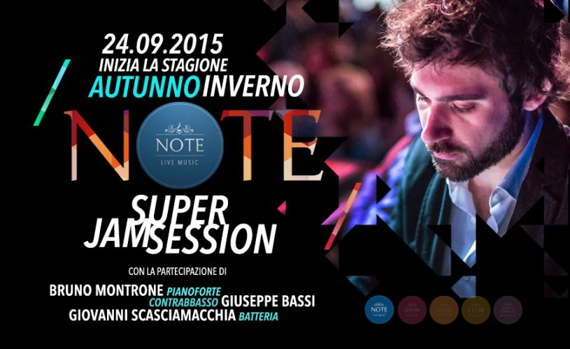 New Opening Super Jam Session a ritmo di Swing
